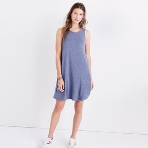 NWT Madewell Highpoint Tank Swing Dress in Blue M